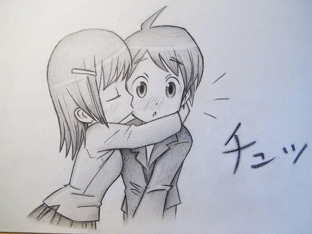 anime love chibi kiss - Buscar con Google | Anime couples ...