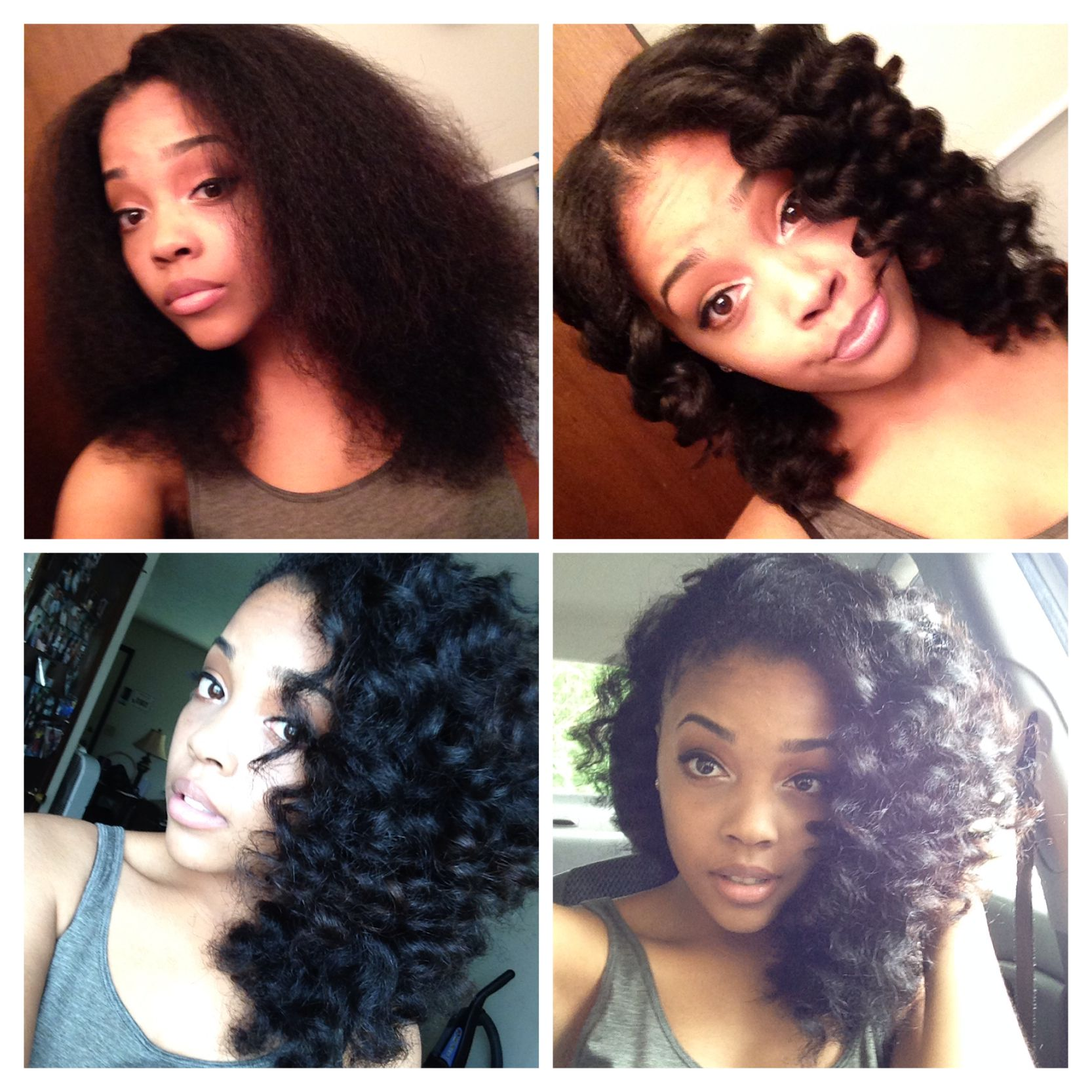 Favorite Easy Style Natural Hair Wanded On Blow Dried Hair Hair Styles Natural Hair Styles Queen Hair