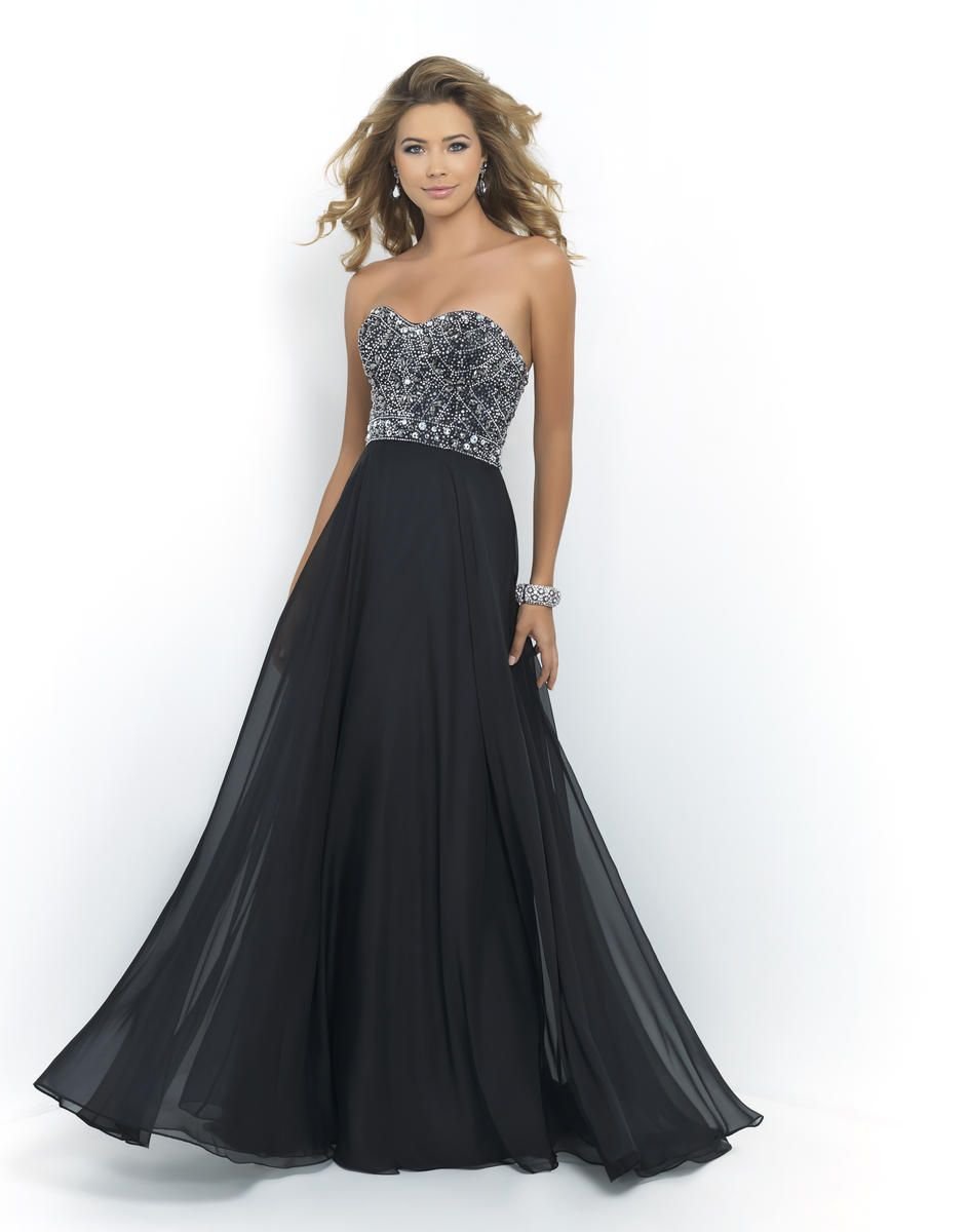 Blush Prom 10003 Strapless Gown