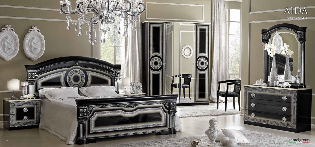 Versace Bedroom Furniture - Master Bedroom Interior Design Ideas ...