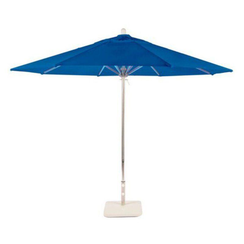 Hampton Bay 11 Ft Aluminum Cantilever Solar Led Offset Outdoor Patio Umbrella In Midnight Navy Blue Yjaf052 Mi T In 2020 Outdoor Patio Umbrellas Outdoor Patio Patio