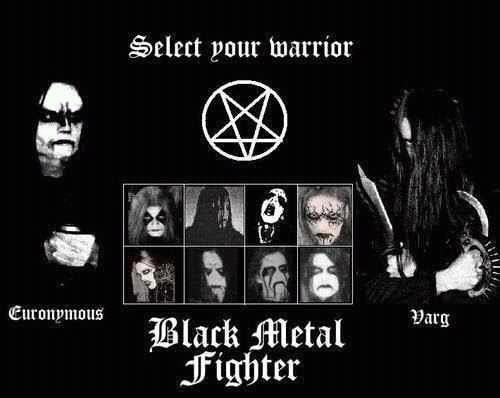 Black Metal Warrior    Round One    FIGHT! lol | Metal