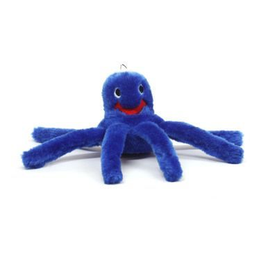 Outward Hound Plush Puppies Octopus Soft Dog Play Toy Squeaker