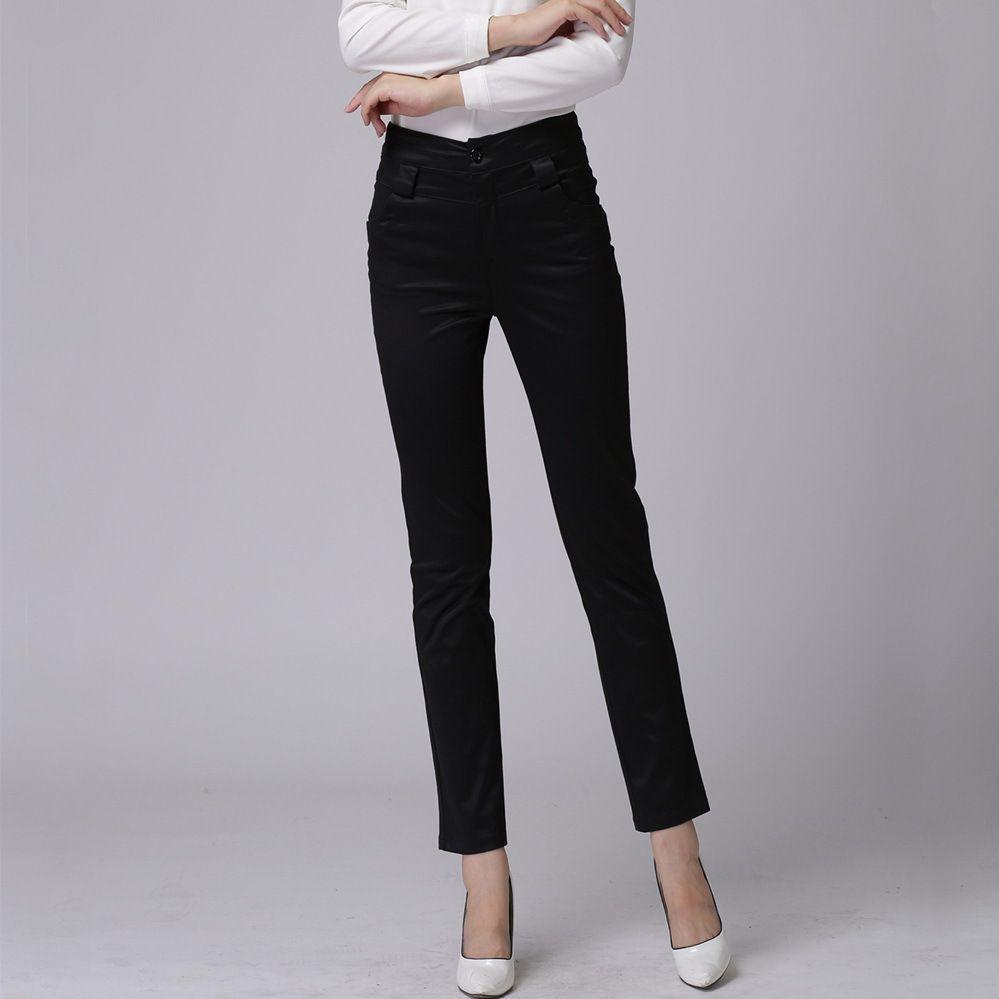 Khaki Pants Women Will Make You More Cool Style Black Womens