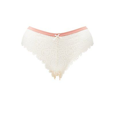a4bef1118e73 Plus Size Pink Banded Cheeky Panties - Size 2X | Products