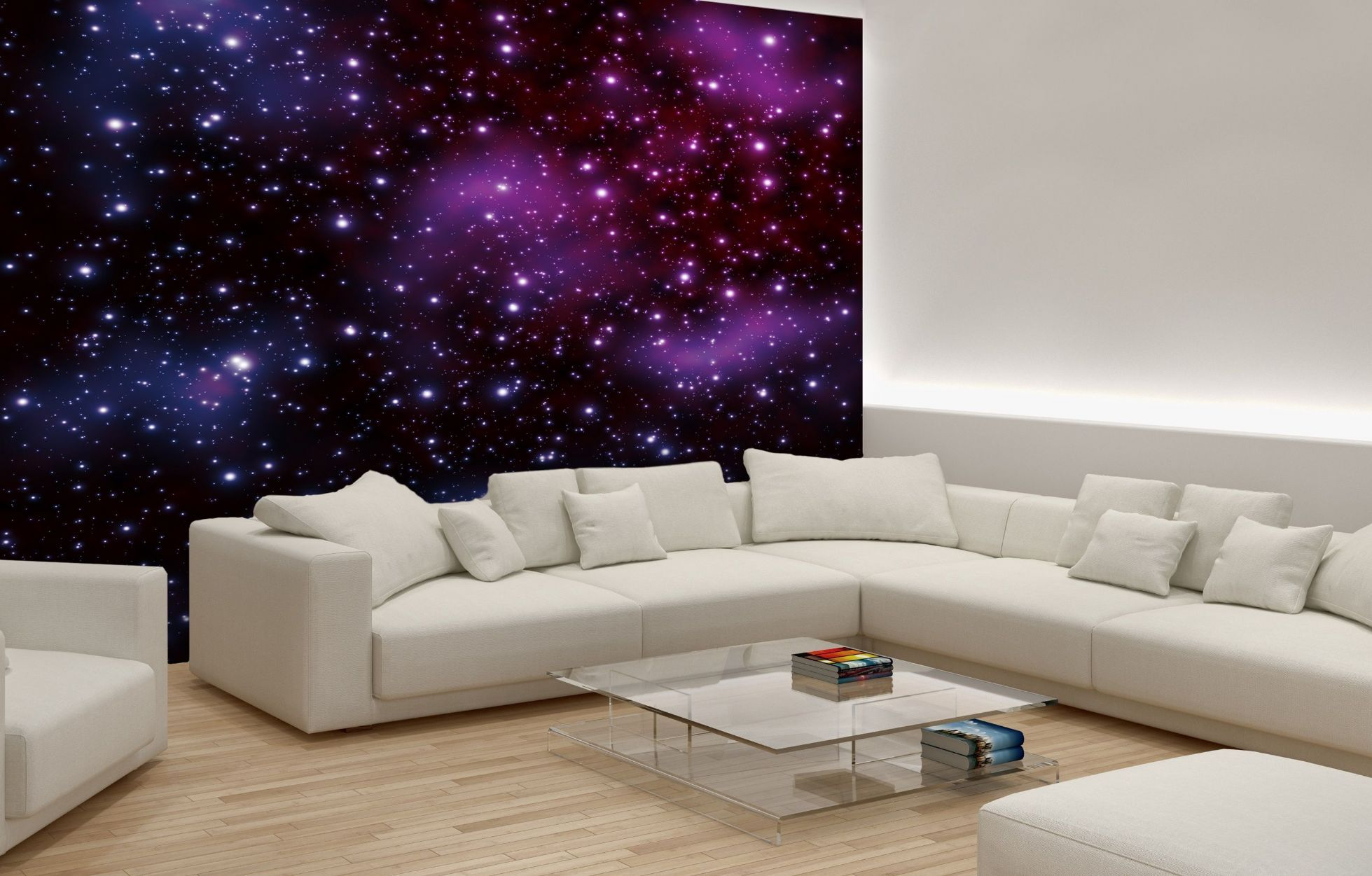 bedroom quot stars the sky wallpaper murals decorated master wall mural ideas