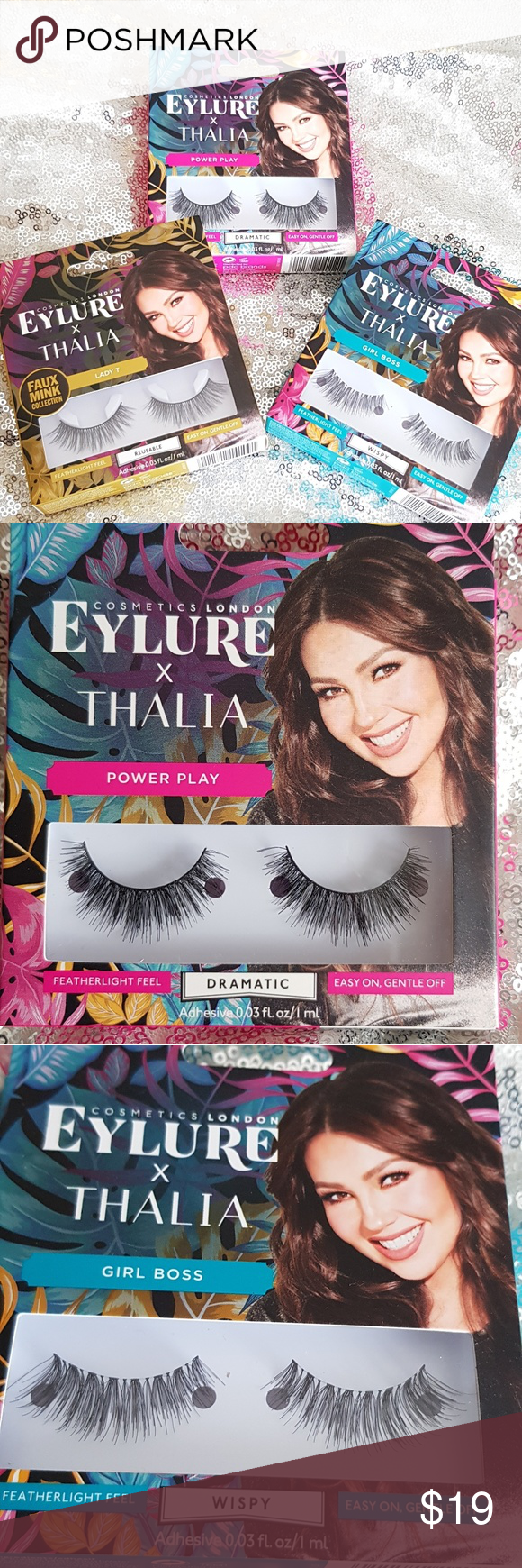 7e2f4ccd67c 😍Eylure X Thalia Lashes Switch up your look with these easy-to-apply  lashes. Includes THREE packs of lashes as seen in picture #1. ❌❌Price is  FIRM.