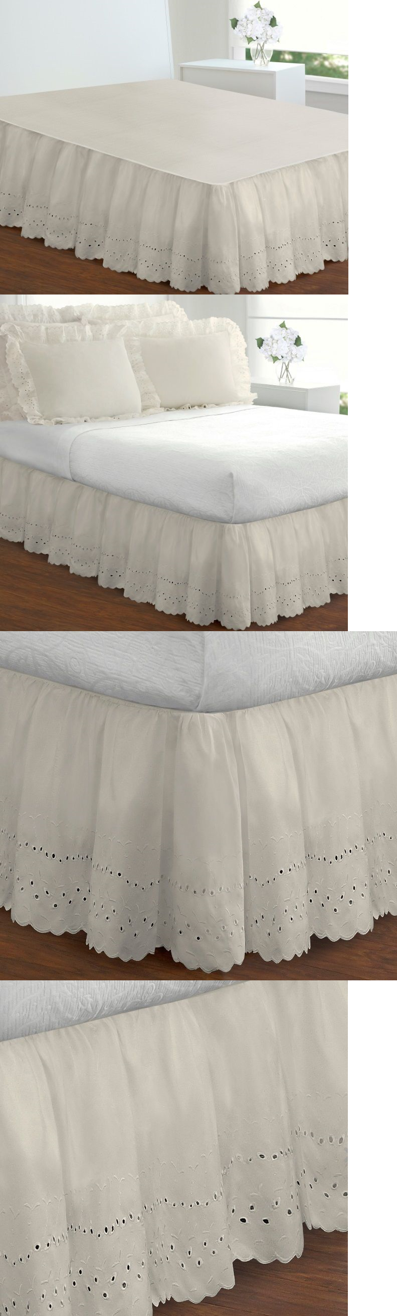 king brown tempting decor eyelet complete adjustable homes and walmart inspire skirt interesting as bed home gardens bedskirt skirtstempting size com to inspiration your bedskirts skirts better