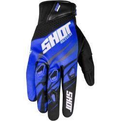 Photo of Shot Devo Ventury Motocross Handschuhe Blau M L Shot