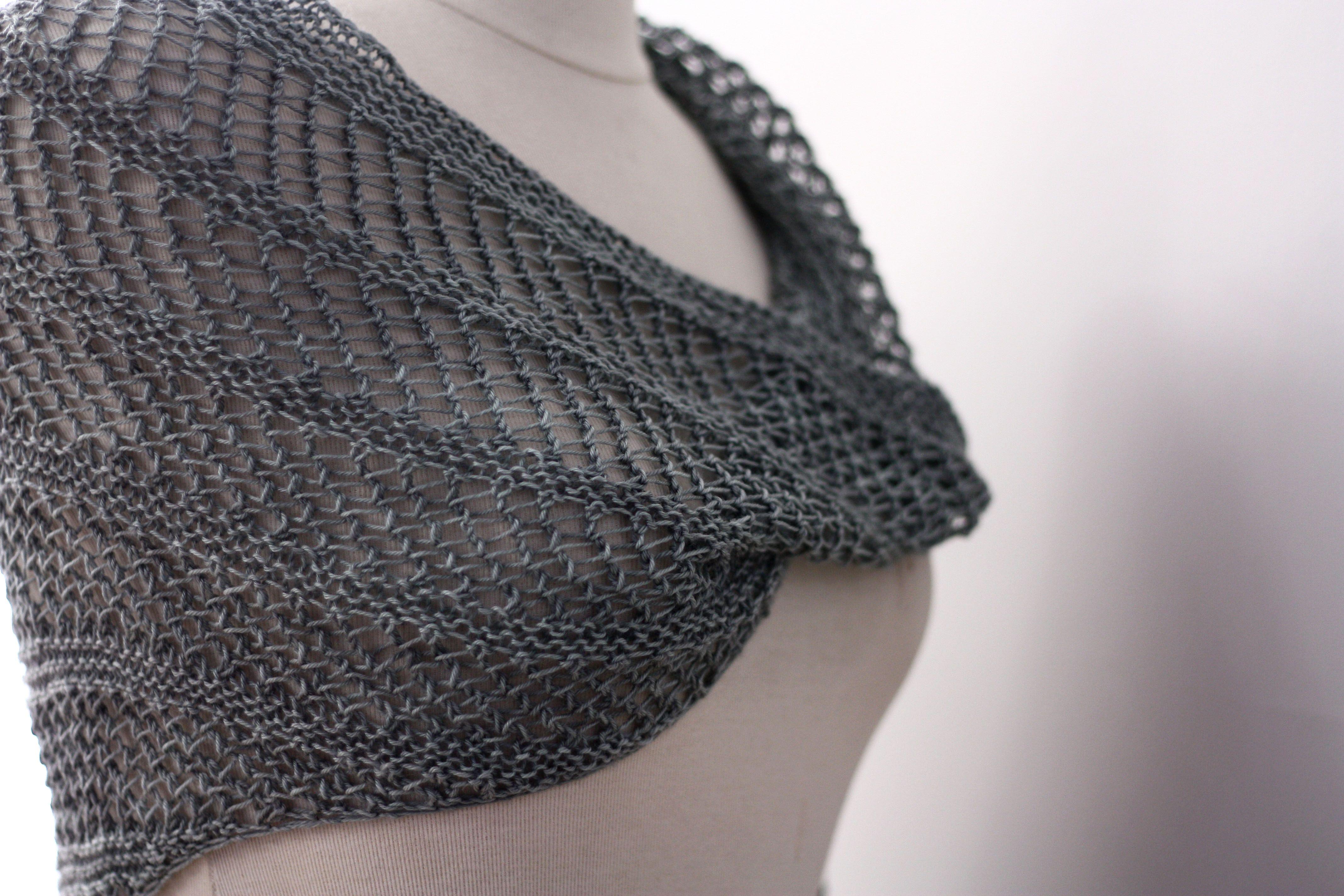 modèle tricot chale gratuit