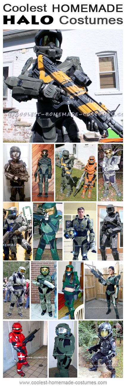 Homemade Halo Costume Collection - Coolest Halloween Costume Contest & Coolest Homemade Halo Costume Ideas and Photos | Pinterest ...
