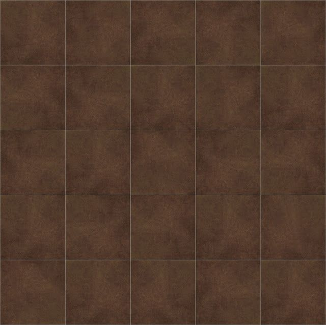Brown Tile Color Ideas For Decorating: Texture Seamless Floor Tile