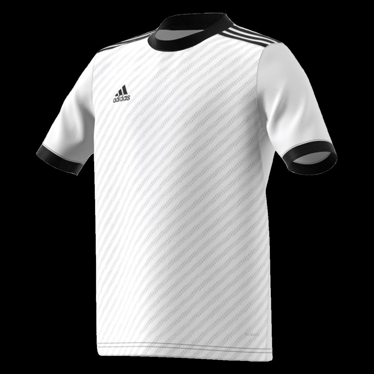 adidas Youth Tiro 19 Training Jersey-white/black-yxl | Adidas ...