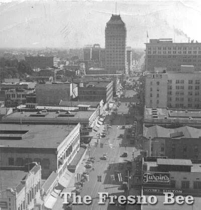 Downtown Fresno, Fulton street in 1935 History that I love - fresh fresno county hall of records birth certificate