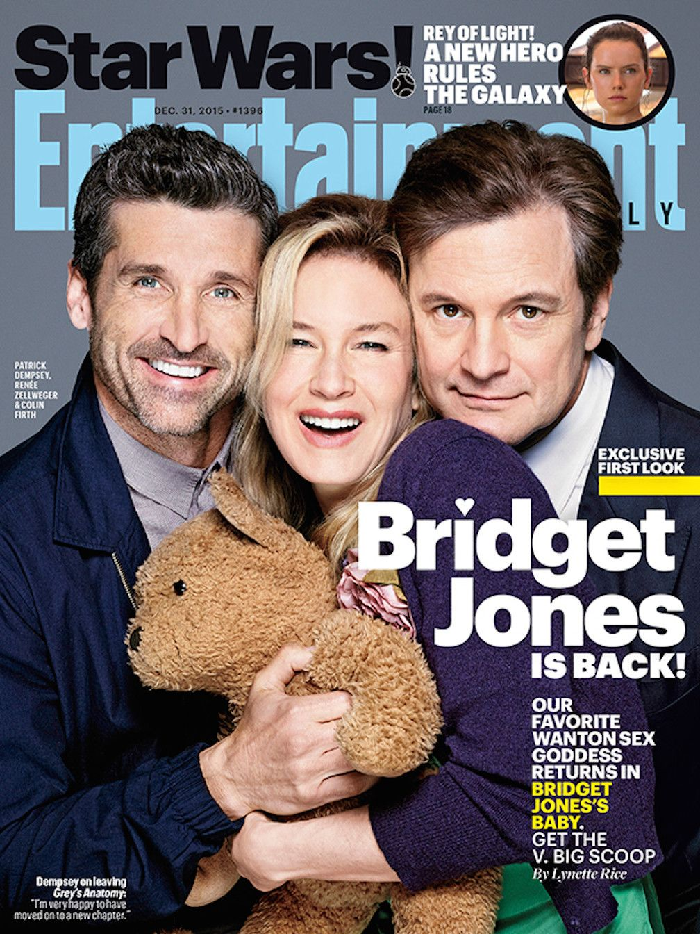 Renée Zellweger Reveals New Details About 'Bridget Jones's Baby,' and They Will Make You Scream