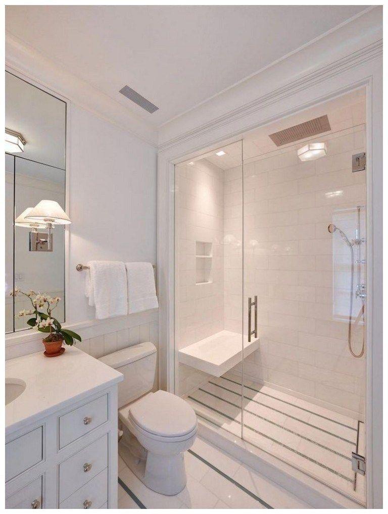 33 Trendy Basement Bathroom Ideas: 54 Cozy Farmhouse Master Bathroom Remodel Ideas That You