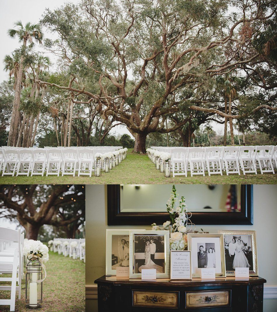 The Ribault Club Wedding Jacksonville Fl January Ceremony Tree Stephanie W Photography Blog Stephaniew Ribault Club Wedding Wedding Ceremony Inspiration