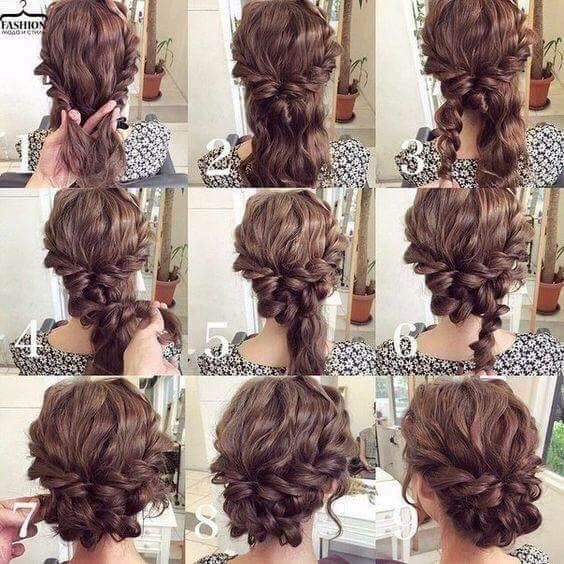 Easy step by step up do #easyupdo