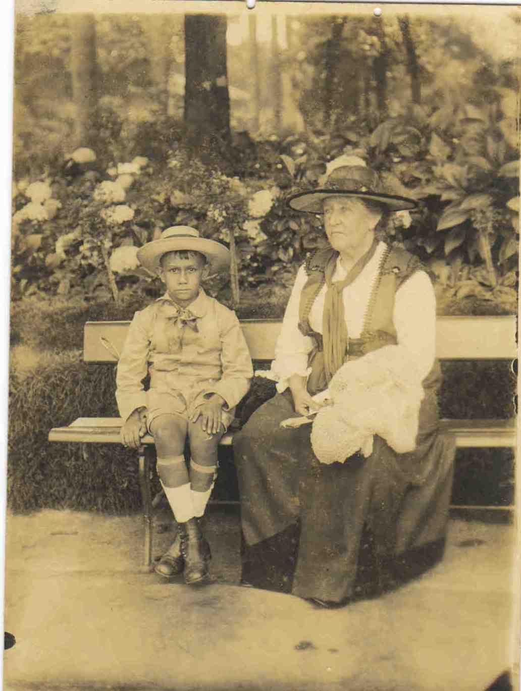 Marie Dumas Villon e Ivan Villon, São Paulo, 1920. | Família Dumas e ...