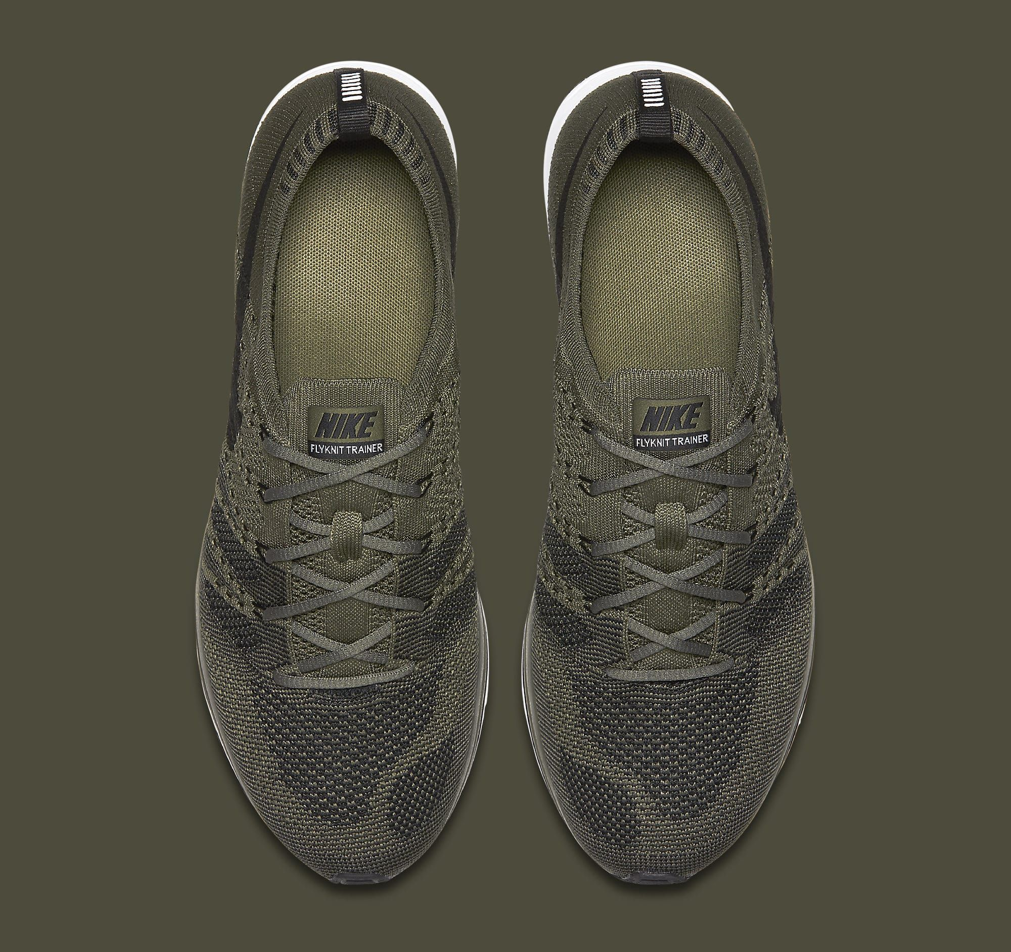 3d813ed294b3e Nike Flyknit Trainer Olive AH8396-200 Top