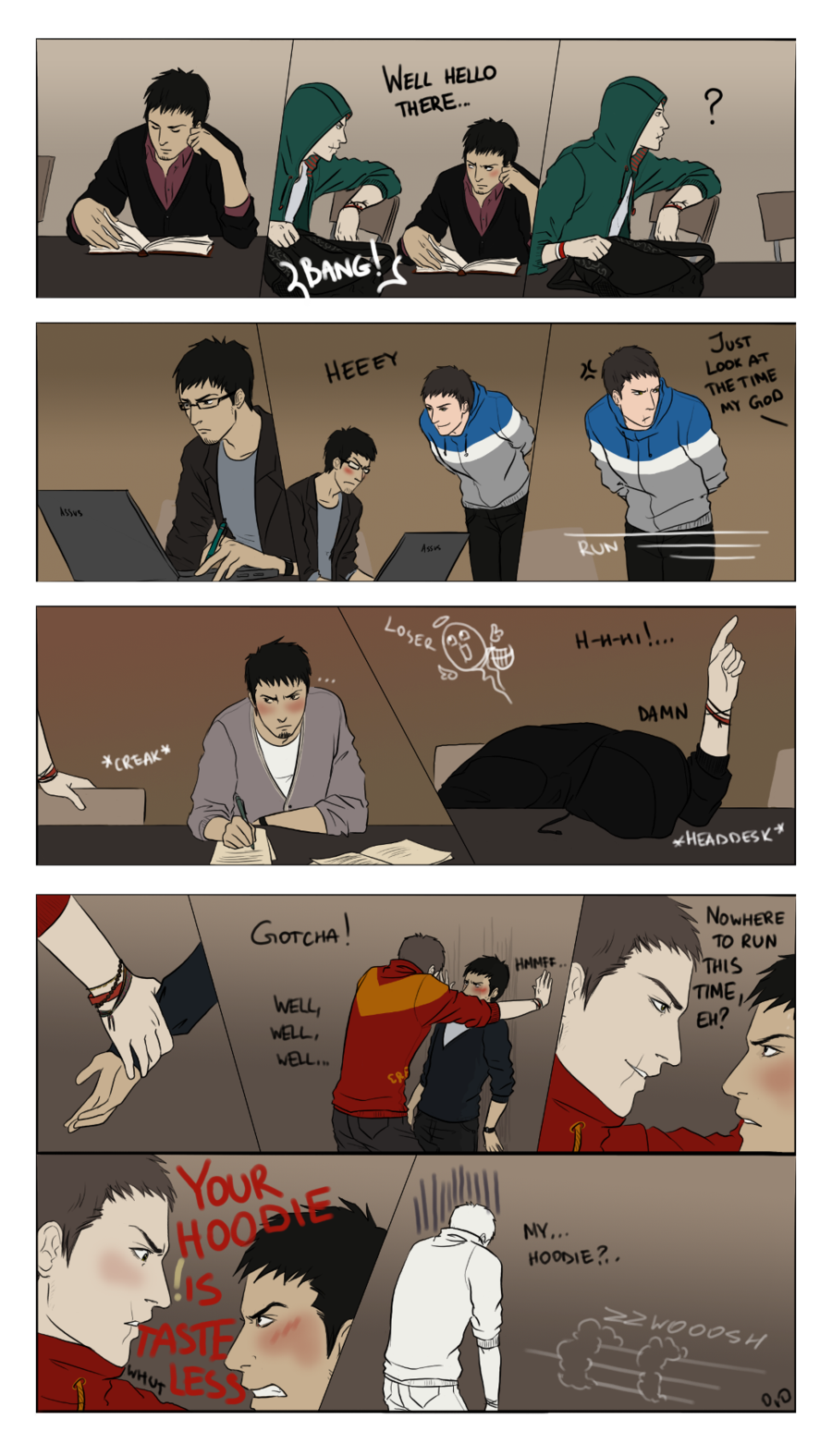 """Assasin Animated Porn Gay ac college au: altair fails at flirting with malik. """"college"""