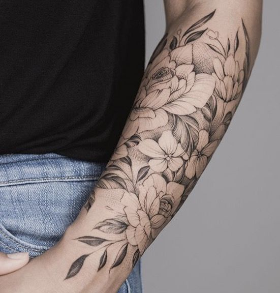 49+ Tatouage bras femme fleur ideas