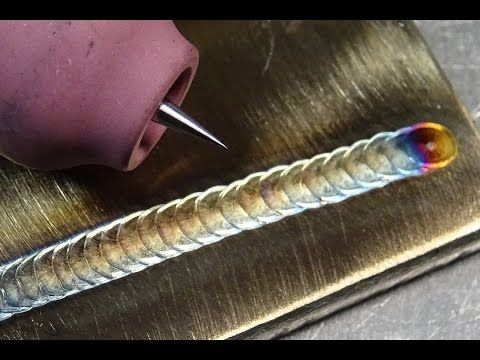 How to REALLY sharpen tungsten for precision stainless TIG welding - aluminum welder sample resume