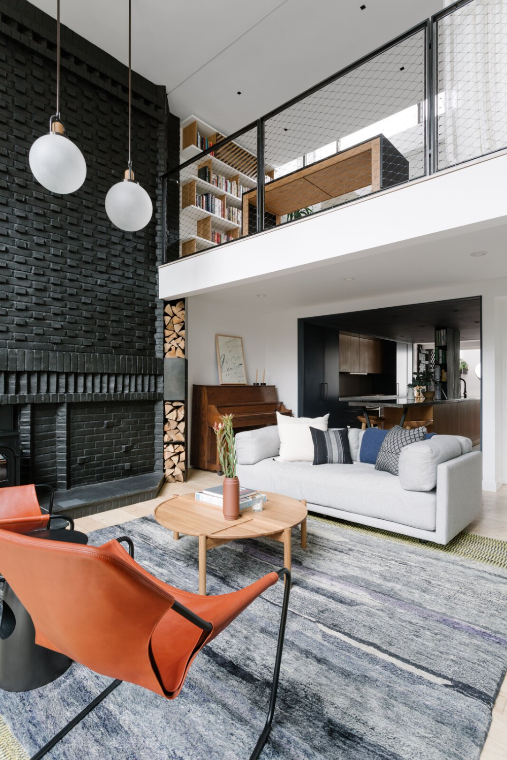 Chelsea Writer S Loft By E G Projects Living Room Loft Double Height Living Room Interior Decorating Living Room