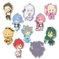 From The Epic Anime Re Zero Starting Life In Another World Toy Sworks Gives Us A Brand New Set Of Keychains Featu Secret Characters Favorite Character Anime