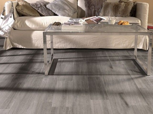 Carrelage imitation parquet gris carrelage pinterest deco salons and tile flooring - Carrelage imitation parquet salon ...