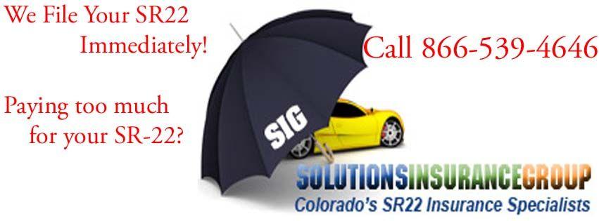 Pin On Sr22 Insurance Colorado Sr 22 Best Rates Car Insurance