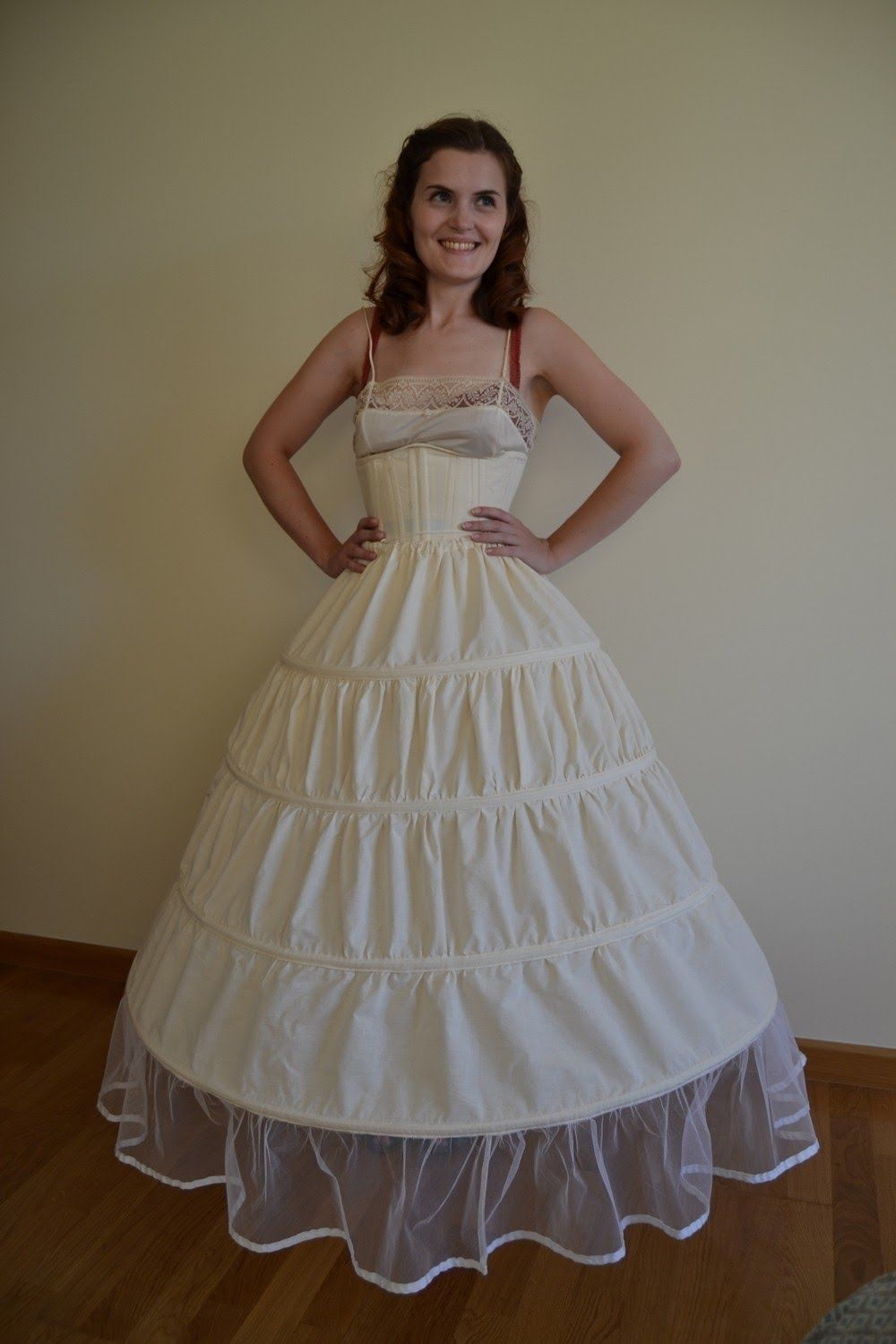 How to make a hoop skirt how to sew a pageant dress and more