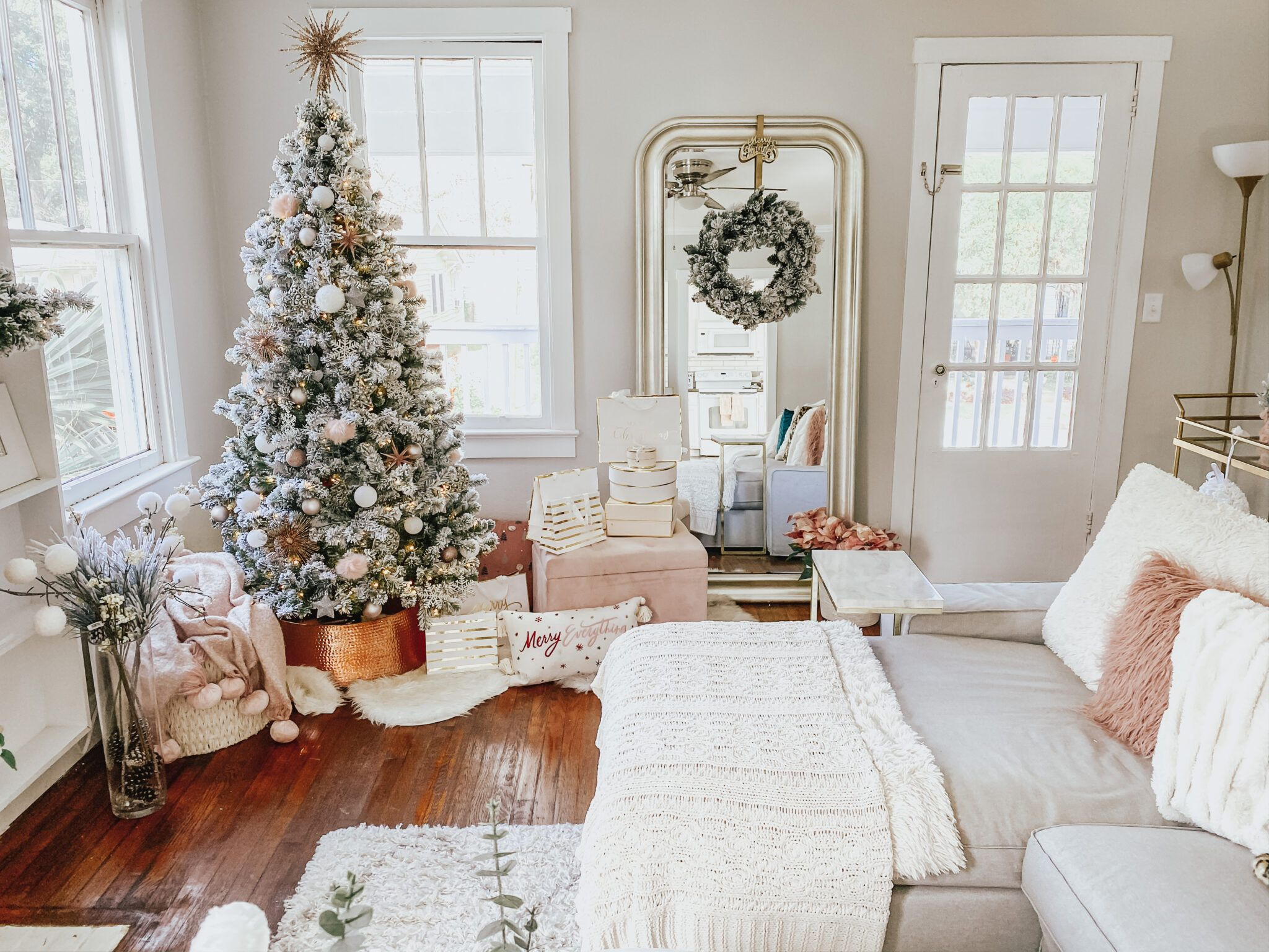 My Holiday Home Decor Tour + Video Holiday decor