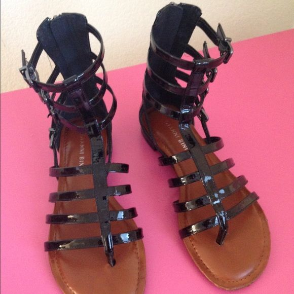 d7d58fd3002c Gianni Bini Tate Gladiator Sandals Gently worn. Good condition. Gianni Bini  Shoes Sandals