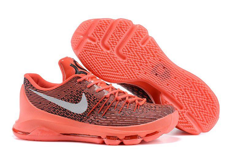 Nike Kd 8 V8 Crimson White Black Shoes #kdshoes #kd8shoes #kd8crimson