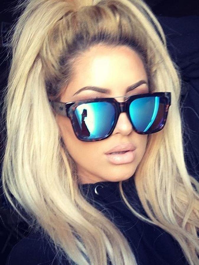 9deb068629 Quay Eyeware Quay X Chrisspy Mila Sunglasses in Tort Blue Mirror ...