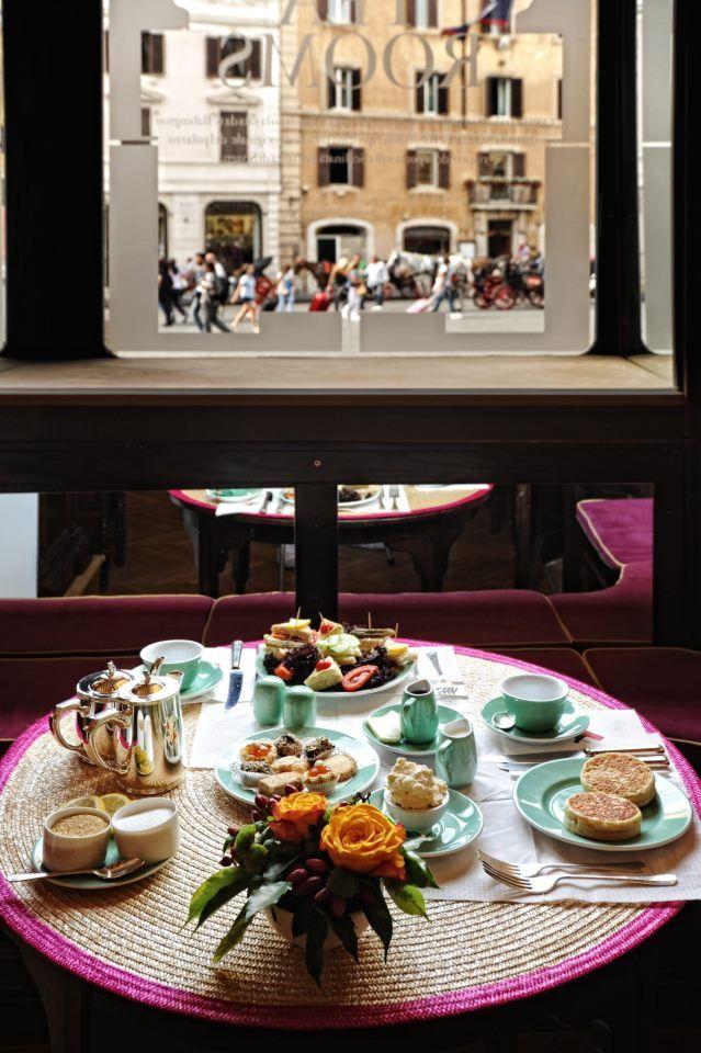Babington's Tea Rooms in Rome, Piazza di Spagna 23. www ...