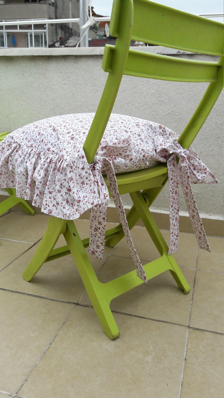 Chair cushions with tiesruffle linen chair cushion covers