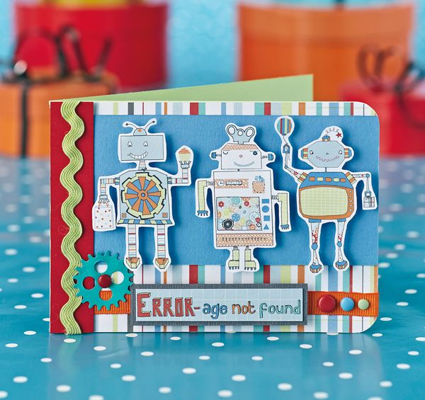 photo about Printable Children's Birthday Cards referred to as Totally free robotic printables in opposition to Papercraft Inspirations 114