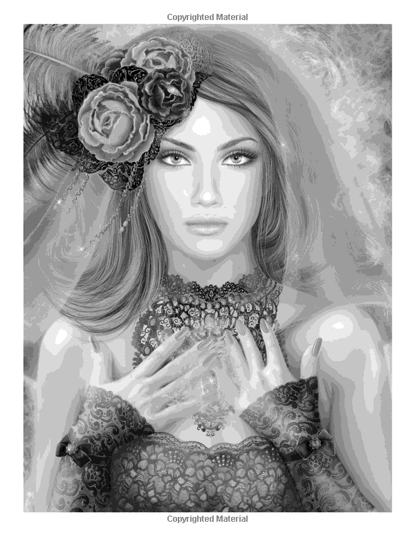Mermaids Fairies Fantasy Coloring Books For Grown Ups Adults Wingfeather Coloring Books Volume 4 Grayscale Coloring Books Grayscale Coloring Greyscale