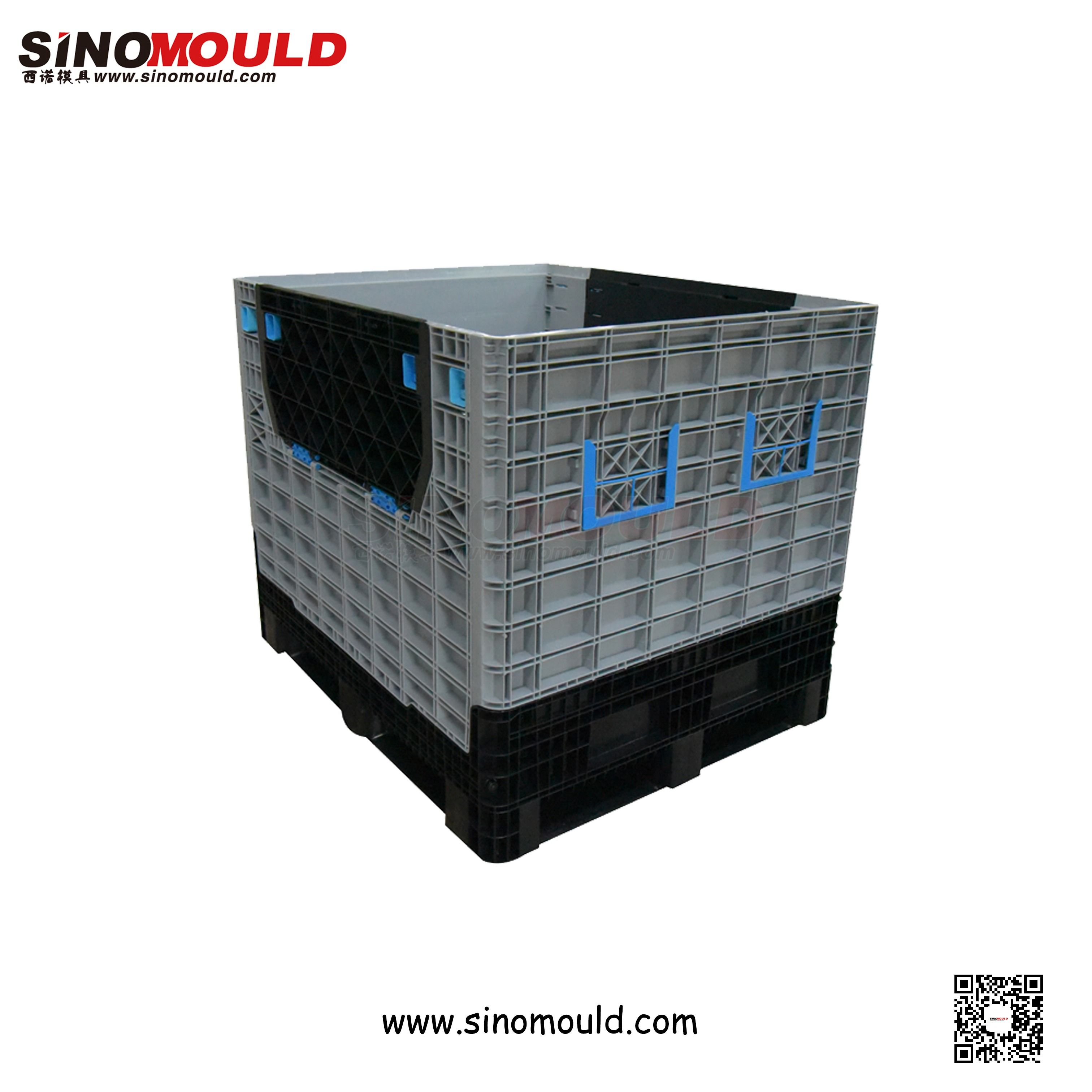 Foldable Pallet Box Welcome To Follow And Contact Us Email Sino Mould Hotmail Com Whatsapp 86 158 5868 5625