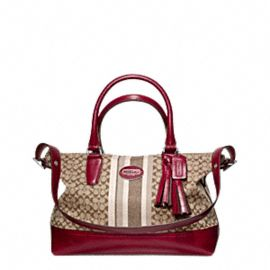 LEGACY SIGNATURE STRIPE MOLLY SATCHEL from coach... love it