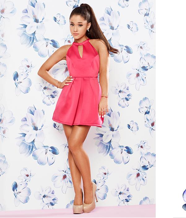 1a9bab2a6 ariana-grande-for-lipsy-bow-back-skater-dress   Ariana Grande ...