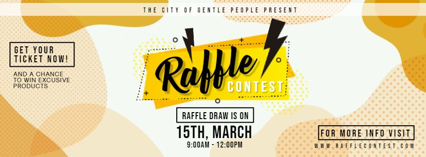 Modern Creative Raffle Ticket Custom Design | Ticket design ...