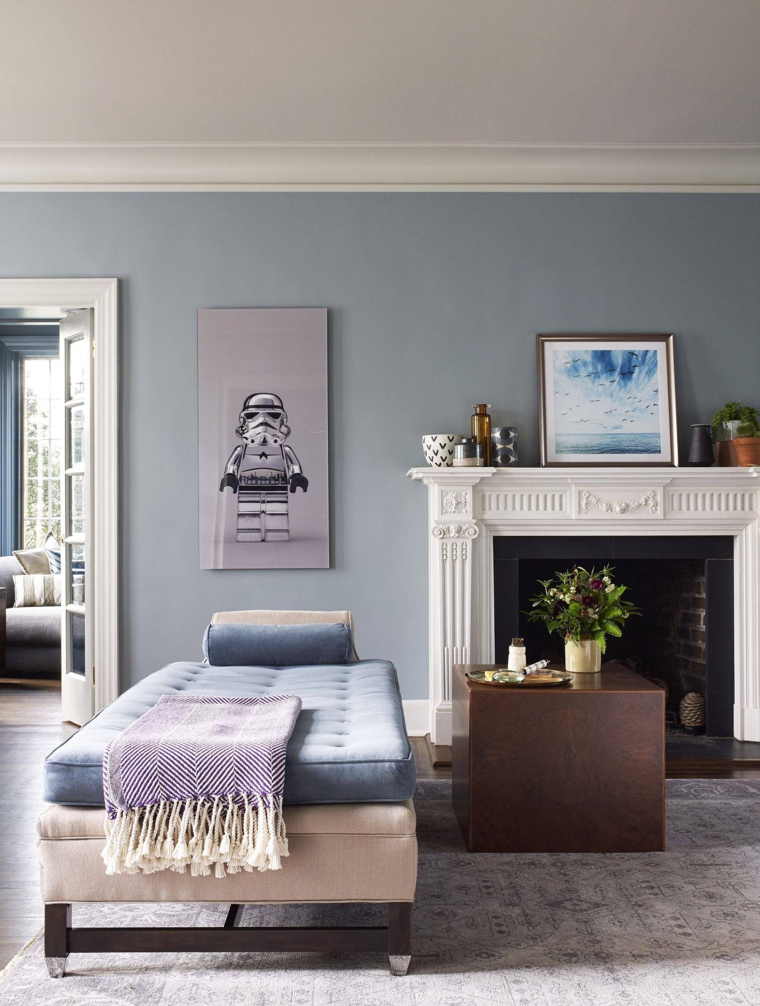 Innenarchitektur wohnzimmer lila a classic yet edgy georgian home in westchester new york  inside