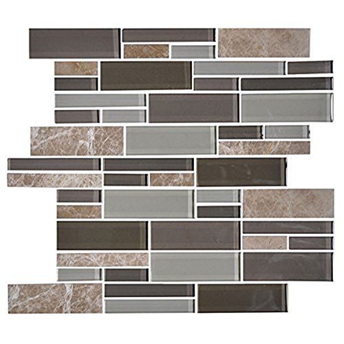 11pcs 14.2x11.8 inch wall Glass Stone mosaics tiles Irreg... https://www.amazon.com/dp/B01JIPKB7O/ref=cm_sw_r_pi_dp_x_MnY3xb33AQ9CR