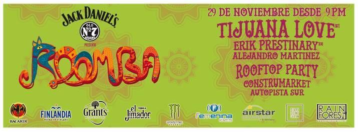 Roomba Rooftop Party @ El Salvador