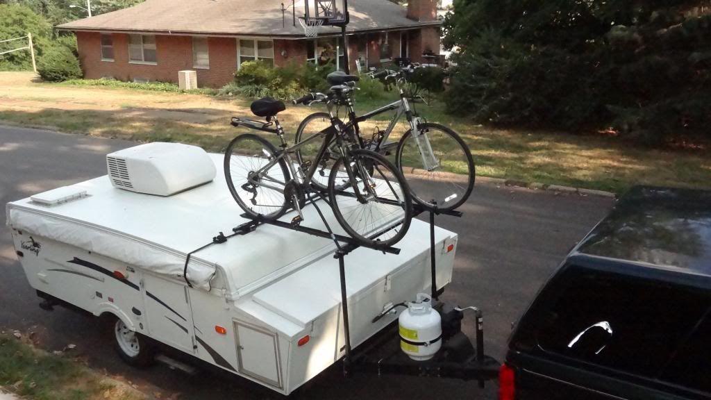 Hybrid Bike Rack for my Palomino