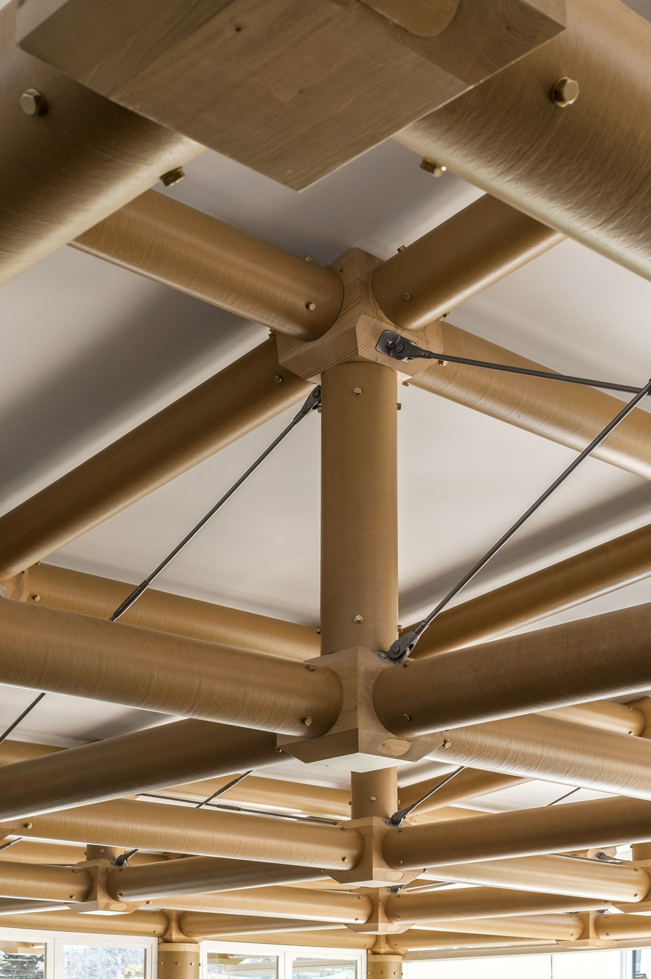 paper pavilion ie business school madrid espa a 2013 shigeru ban madera pinterest. Black Bedroom Furniture Sets. Home Design Ideas