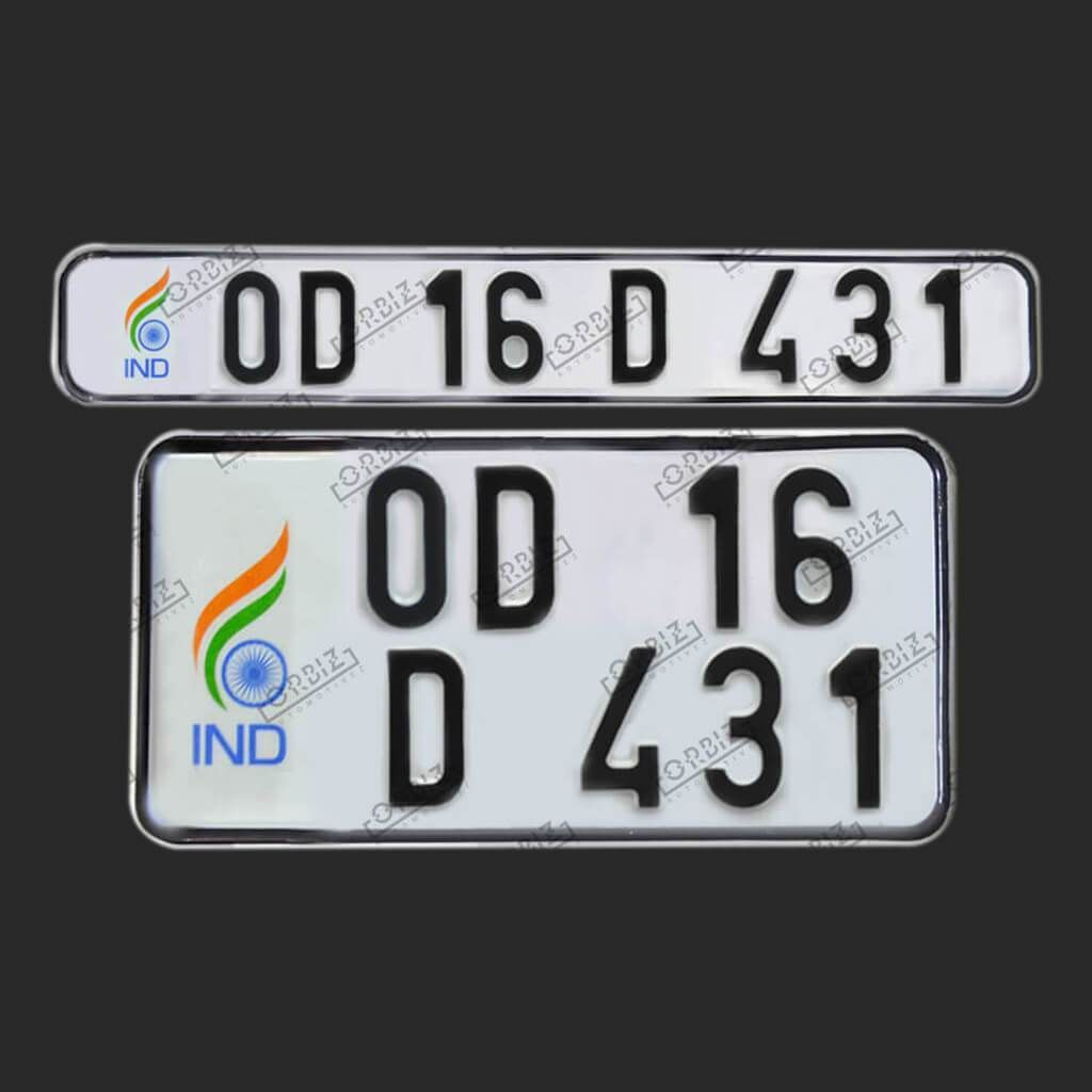 Orbiz Normal Number Plate Number Plate Design Plates